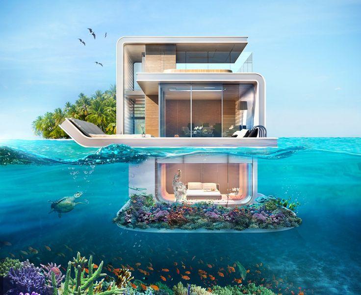 Bien-aimé Les 25 meilleures idées de la catégorie Hotel sous l eau sur  WI36