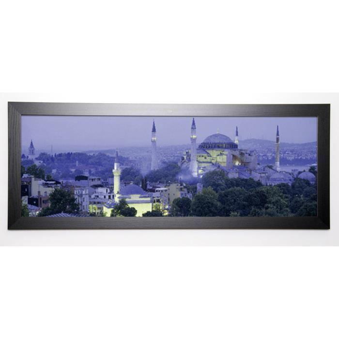 FROST Image encadrée Aya Sophia Istanbul Turkey 40×102 cm Violet