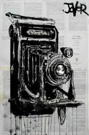Image result for film camera in pen and ink