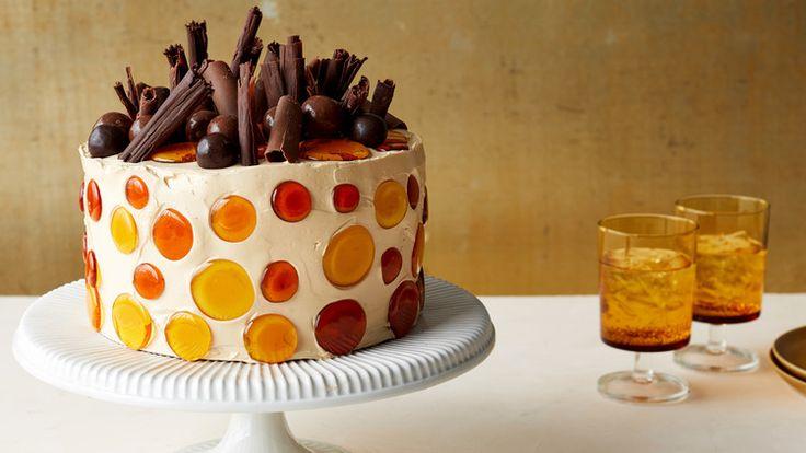 Caramel Chiffon Cake   Recipe (With images)   Easy cake ...