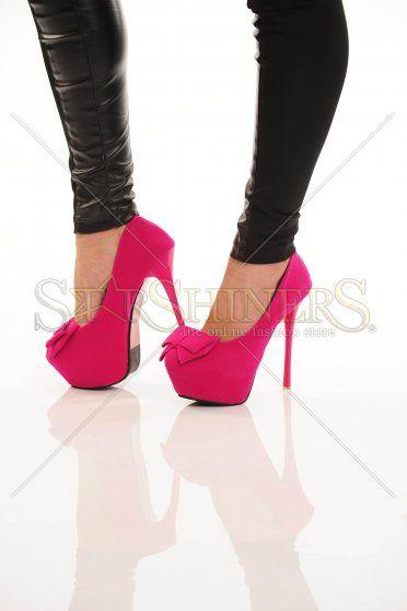 Pantofi Dreamy Bow Pink