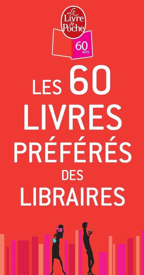 1 les 60 des libraires livres préFérés