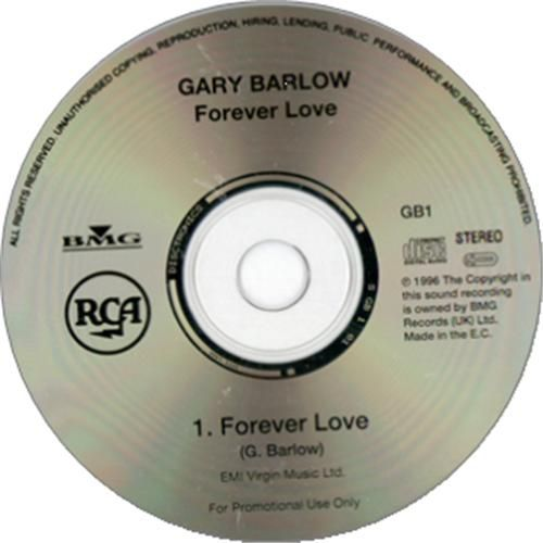 "For Sale - Gary Barlow Forever Love UK Promo  CD single (CD5 / 5"") - See this and 250,000 other rare & vintage vinyl records, singles, LPs & CDs at http://eil.com"