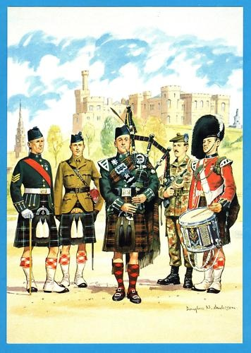 QUEENS OWN HIGHLANDERS (SEAFORTH & CAMERONS)