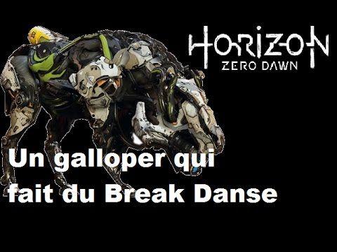 Un Galloper qui Fait du Break Danse (Horizon zero Dawn)