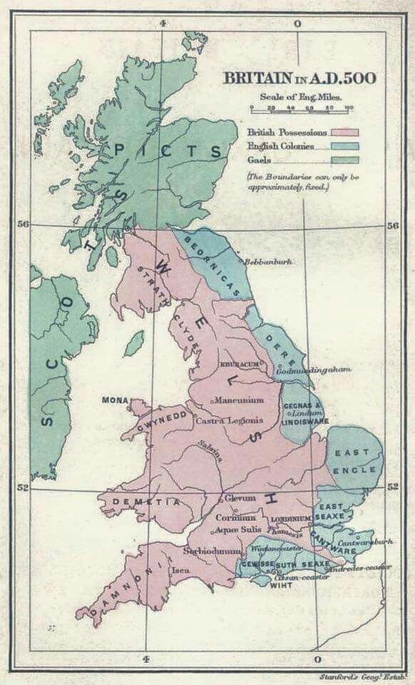 Map Of England 6th Century.Eugene Popovsky Eugenepopovsky On Pinterest