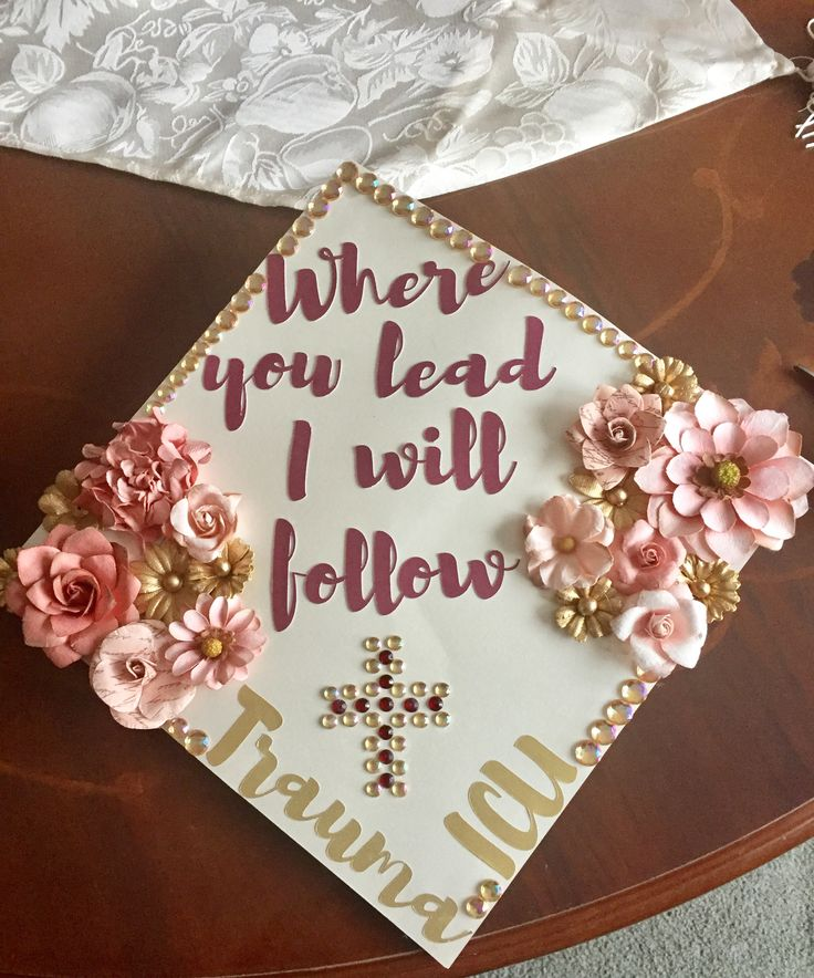 Christian And Nursing Graduation Cap Cap Decorations