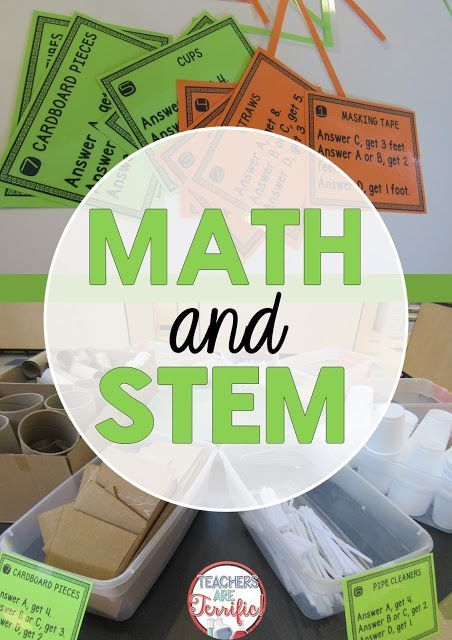 Math and STEM! We completed a fantastic SEM challenge in which we had to earn our materials by solving math problems!