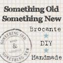 Something Old, Something New: Hier vind je de mooiste brocante, unieke handgemaakte producten voor in huis en de kinderkamer. Hippe eigen ontwerp sieraden en leuke doe het zelf/hobby artikelen (DIY). Ook maken wij in opdracht bijzondere producten met een persoonlijk tintje.