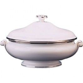 Wedgwood Sterling Covered Vegetable Dish 20cm