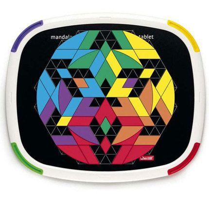 Mandala Mosaik Tablet - dengamleskole.dk