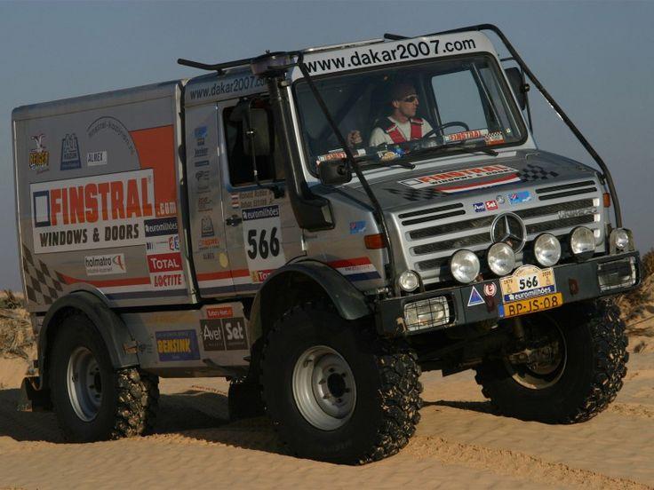 Mercedes Unimog U5000 Rally Truck 2000