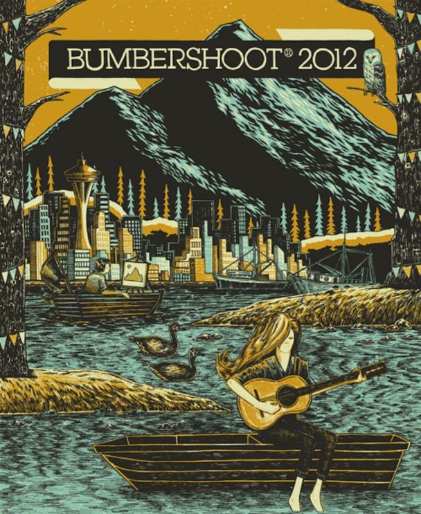 bumbershoot festival 2012 poster: Festival Posters, 2012 Poster, Poster Design, Music Festival, Festival 2012, Festivals, Bumbershoot 2012, Bumbershoot Music, Bumbershoot Festival