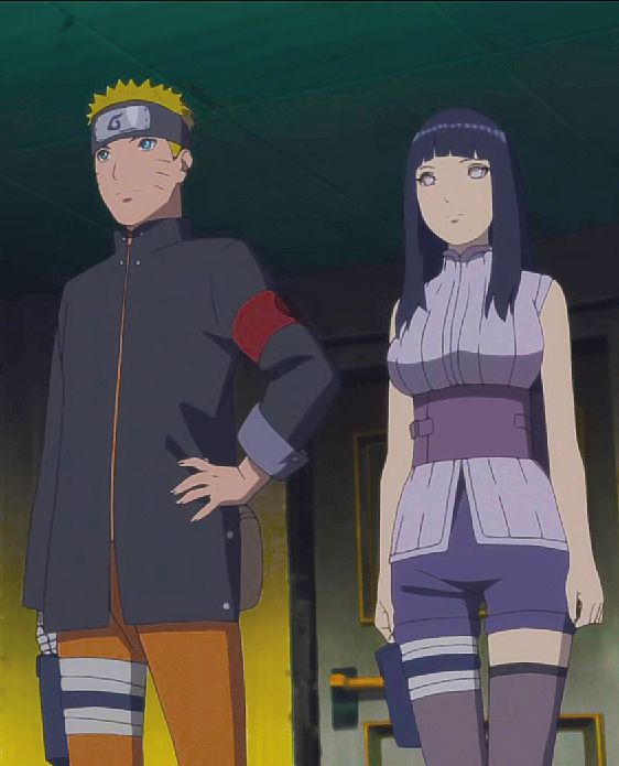 Naruto and Hinata The Last
