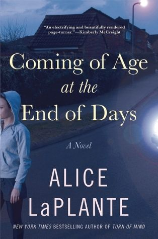Coming of Age at the End of Days by Alice LaPlante. Hiding her willful nature from her parents and friends, only to succumb to depression in her teens, misfit Anna becomes vulnerable to a cult and its prophecies about the end of the world.