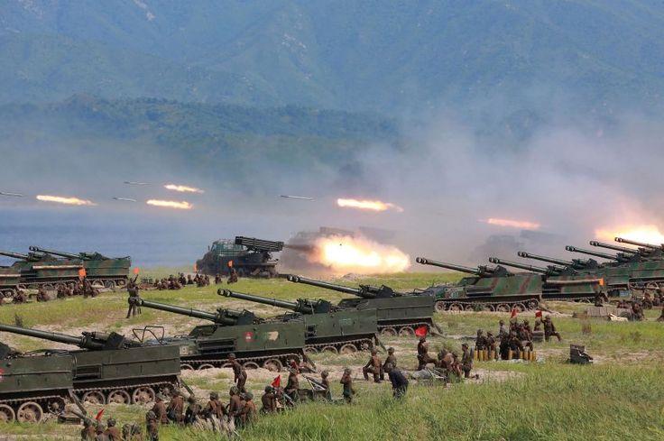 """""""Es ist nicht sicher, dass die USA einen solchen Krieg gewinnen würden."""" http://m.spiegel.de/politik/ausland/nordkorea-experte-nicht-sicher-dass-die-usa-einen-krieg-gewinnen-wuerden-a-1166677.html"""