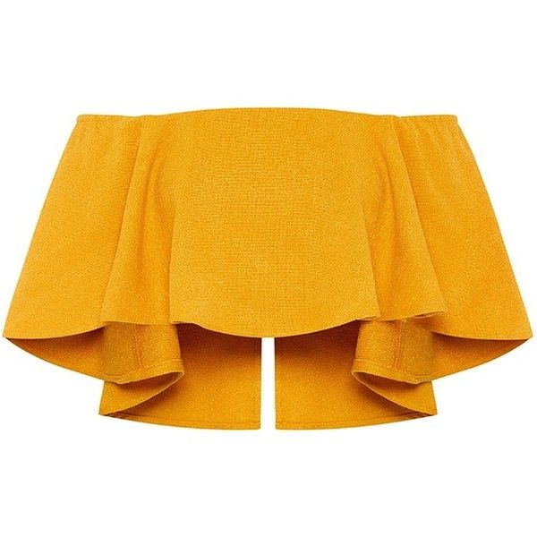MARIGOLD TOP found on Polyvore featuring tops, bustier crop tops, fitted tops, zipper top, bustier tops and zip crop top