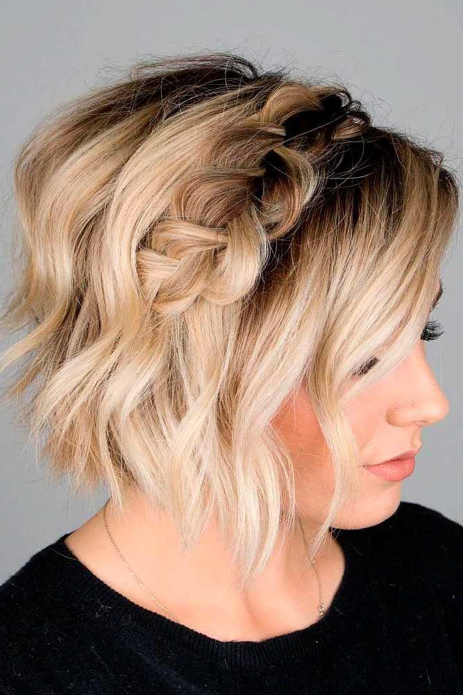 Awesome Hairstyle For Medium Length Hair Updo Short Hair Styles Easy Hair Styles Diy Hairstyles
