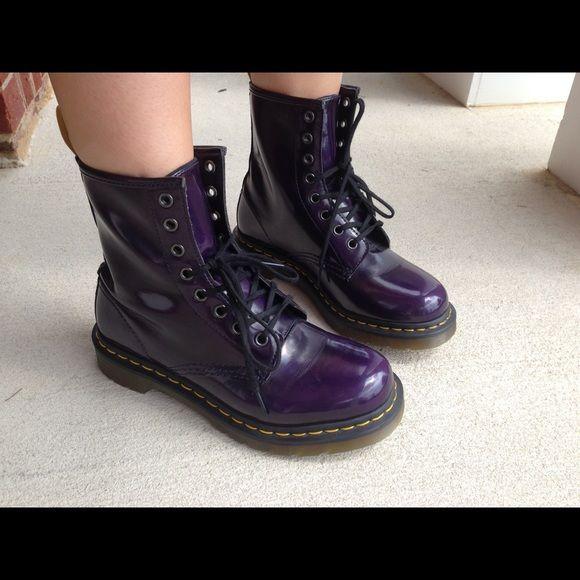 25 best ideas about purple doc martens on
