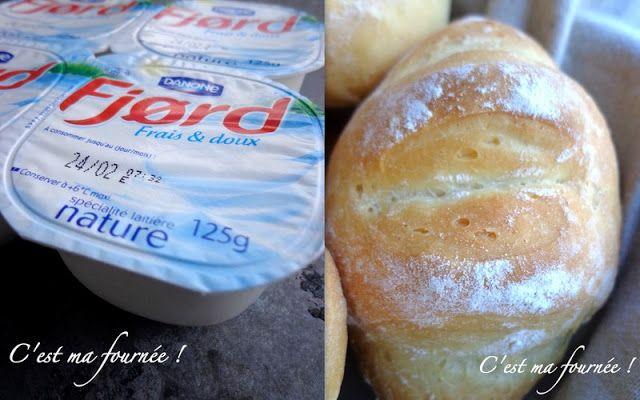 Les incroyables petits pains au Fjord à congeler et réchauffer 1mn à 400W. Un délice
