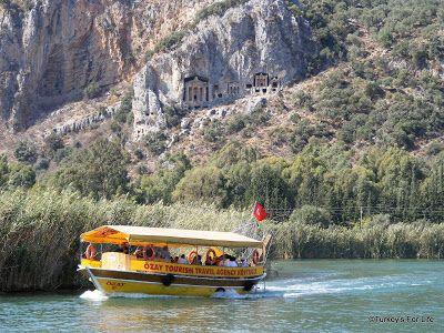#Dalyan Day Trip Boat, Southwest Turkey