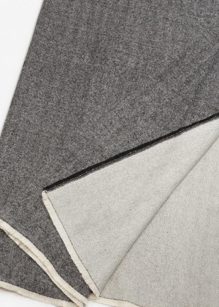 Bufanda bicolor - Mujer | MANGO España