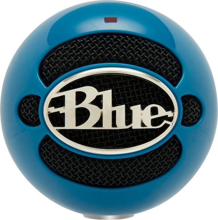 Blue Microphones Snowball - Neon Blue #WRGamers #Blue Microphones