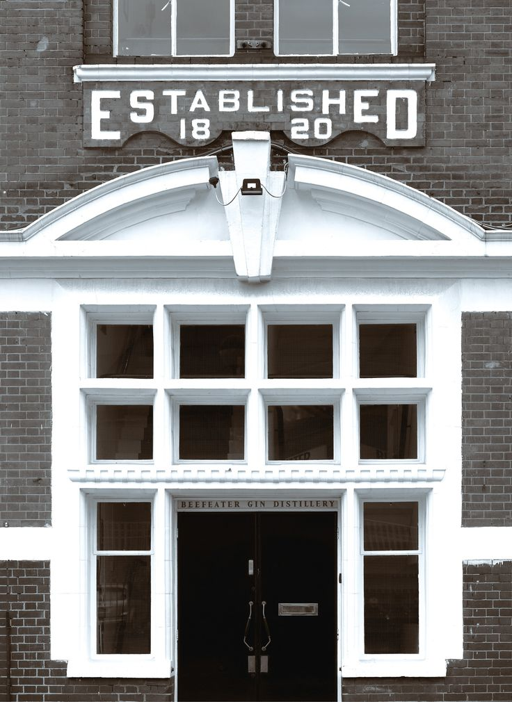 Beefeater Distillery in Kennington, London