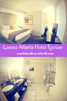 A review of a staycation at Atlanta Loews Luxury Hotel!