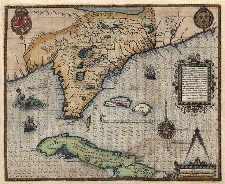Best Colonial America Images On Pinterest Antique Maps - Map highlighted southeast us
