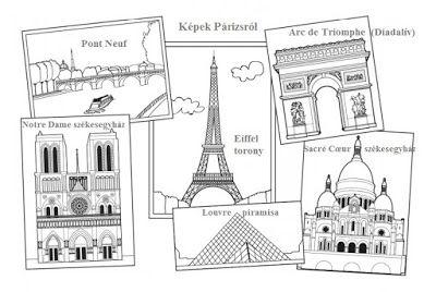 Játékos tanulás és kreativitás: 80 nap alatt a Föld körül projekt: 2. Franciaország