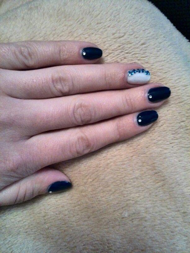 Blue & white 2 #nails