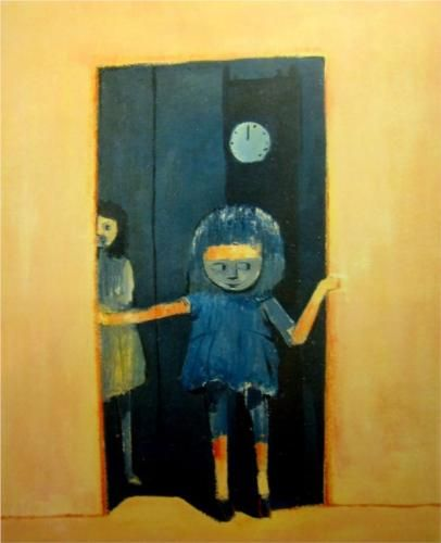 Girl in a Doorway - Charles Blackman