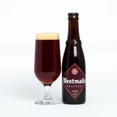 #Westmalle Dubbel is a dark, reddish-brown Trappist beer with a rich and complex flavour that starts herby and fruity and finished fresh and bitter.  This beer is well balanced with a long, dry aftertaste.