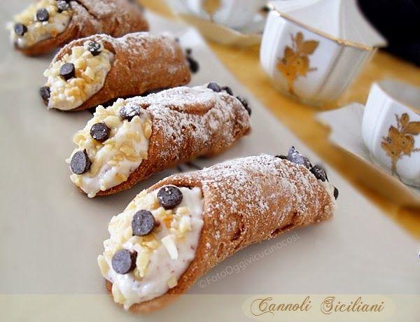 ©Oggi vi cucino così!: Cannoli siciliani
