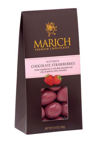 Marich Chocolate Strawberries.
