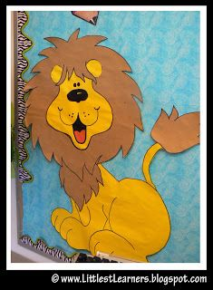 lion bulletin board