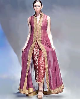 D4215 Old Mauve Valeria Latest Pakistani Party Dresses and Party Wear Metro Center Mall United Kingdom