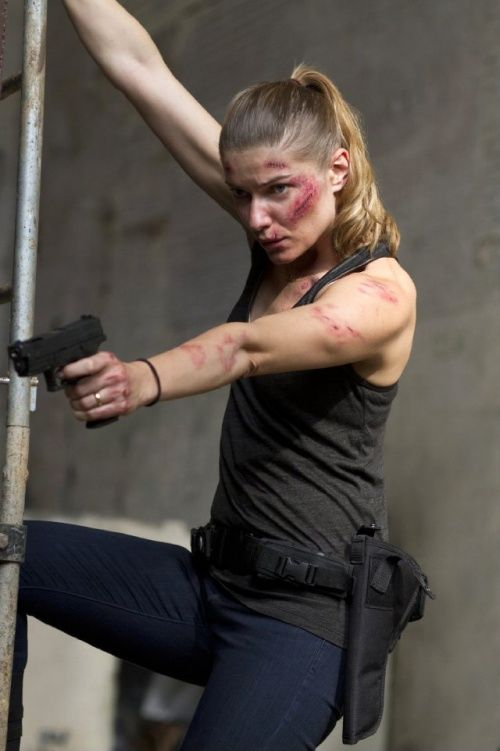 Banshee TV Show history | Ivana Milicevic in Banshee. Bad-ass Carrie!