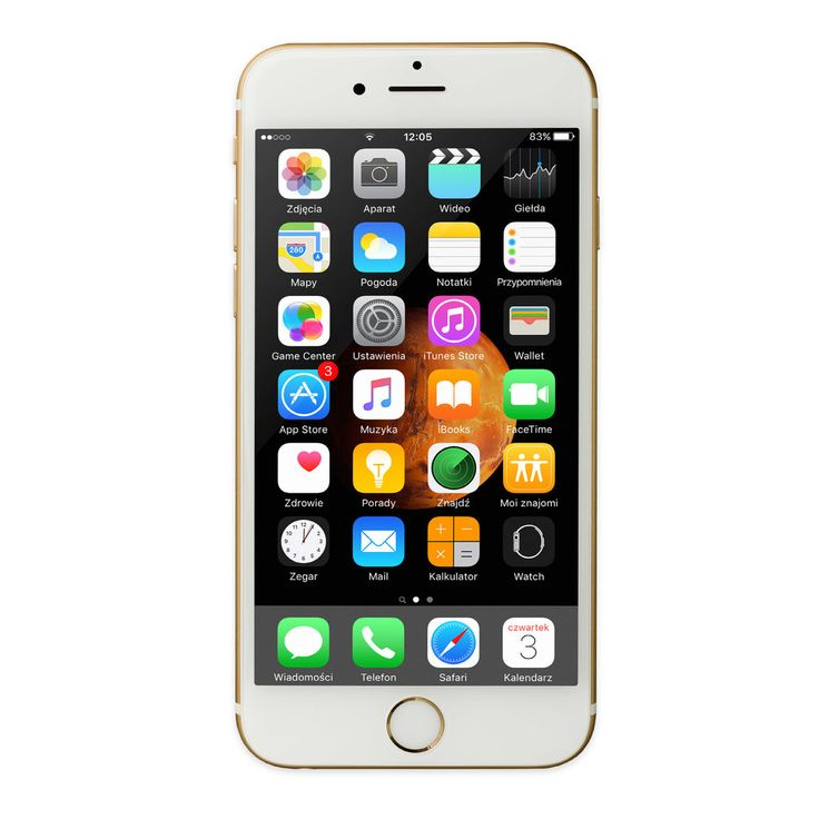 Smartfon iPhone 6 128 GB Złoty MG4E2PK/A