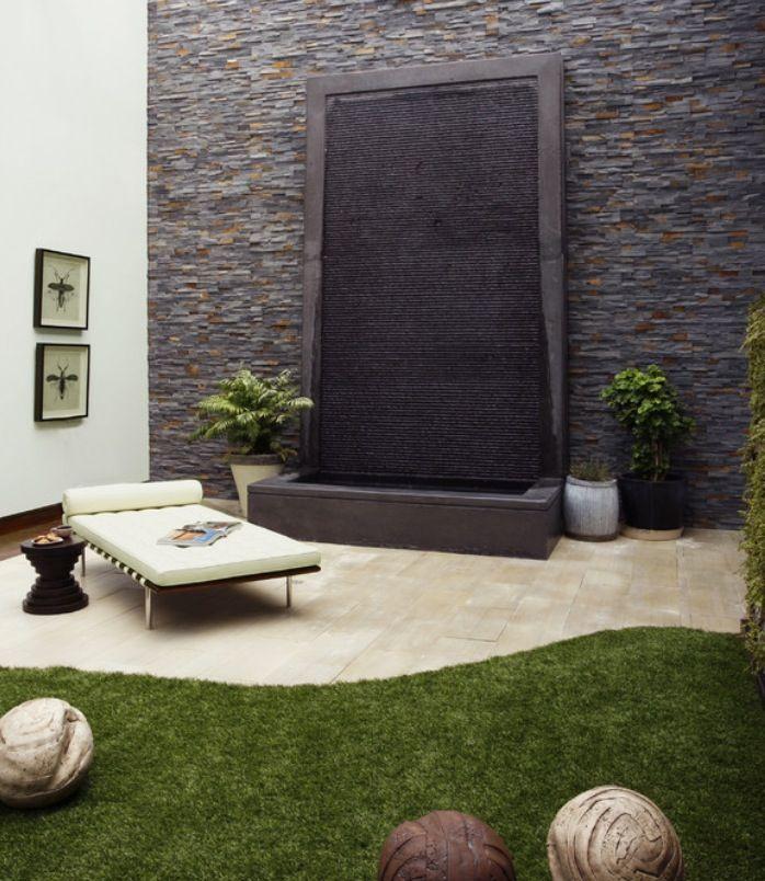 Zen garden backyard with waterfall 90 best
