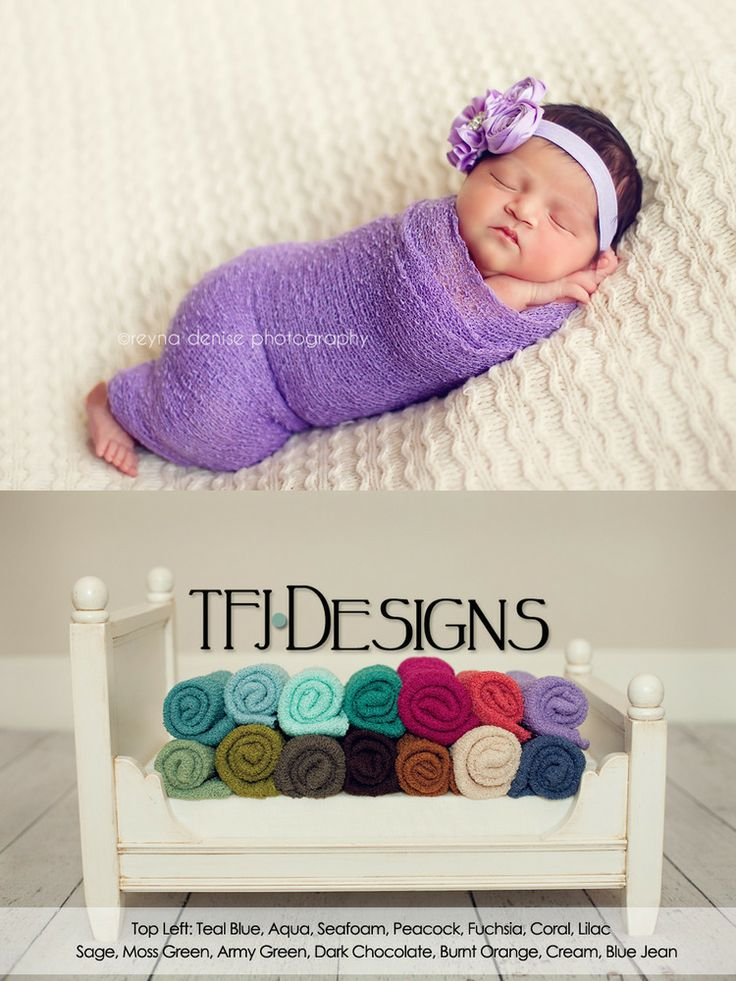 {KNITTED} Baby Wraps - Newborn Photographer Prop - NEW - Ready to Ship, $14.00 by TFJ Designs