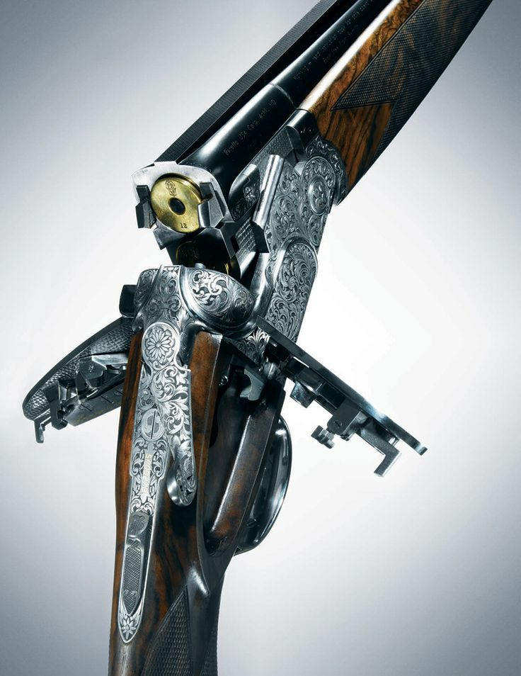 SO Sparviere 12-gauge BERETTA shotgun photographed by Christopher Griffith