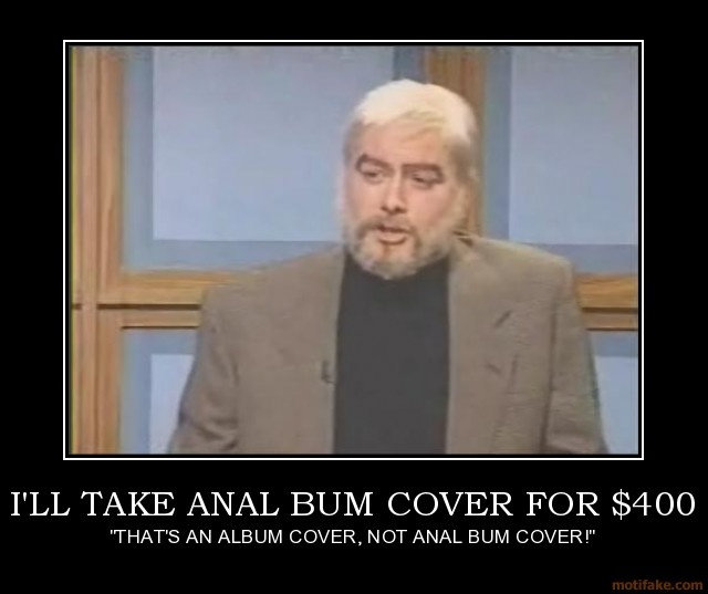 Anal bum cover snl