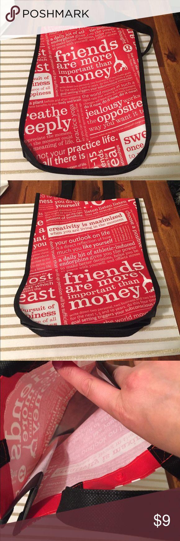 Small size lululemon bag / shopper Lululemon Bag lululemon athletica Bags Totes