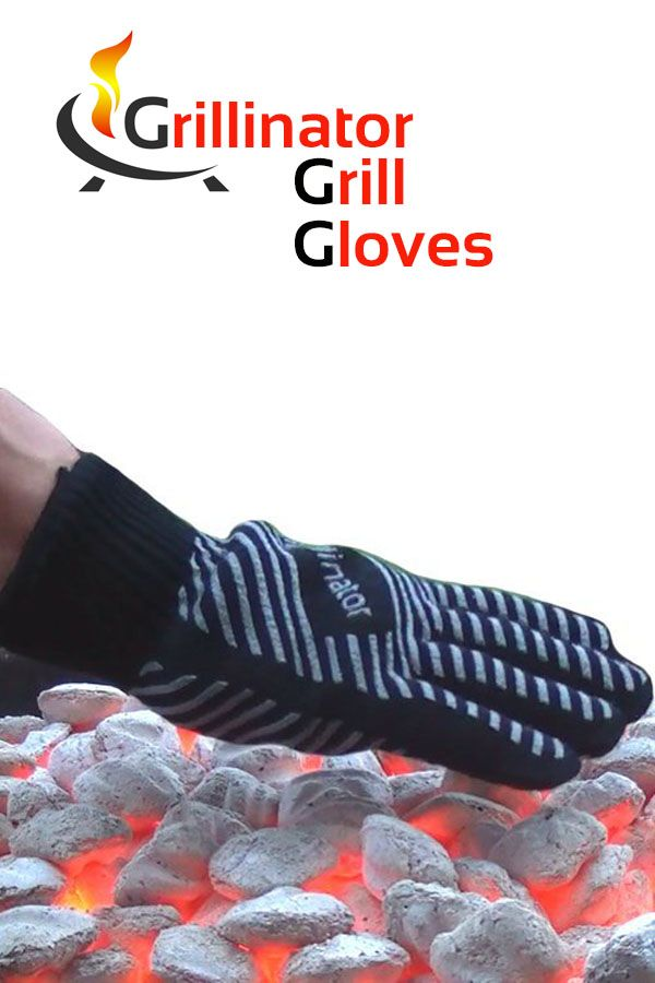 Grillinator Grill Gloves from grillinandchillin.com will give your hard working hands the break and protection they deserve when you fire up the grill. Go ahead and pick up that hot pot, adjust your grill grate or grab that beer can chicken with these bad boys and keep the hot side hot and the cool side cool.