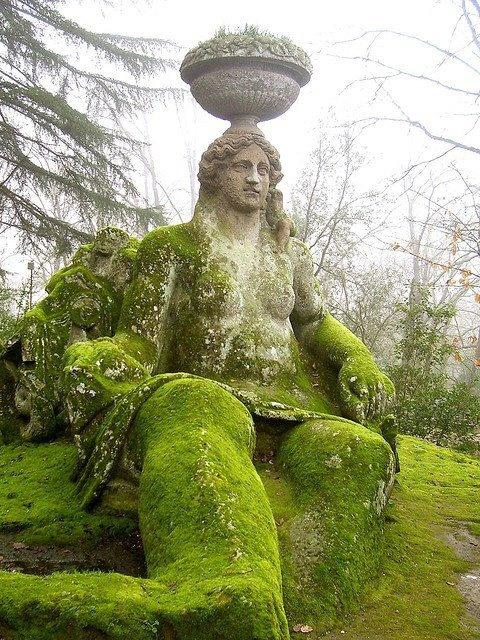 Garden of Monsters | Bomarzo | Italy From Old Moss Woman's Secret Garden ~ facebook link
