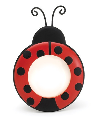 Take a look at this Red & Black Ladybug Round Picture Frame by burton + BURTON on #zulily today!