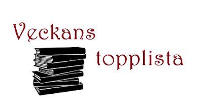Boklysten: Veckans topplista - Bokomslag på temat rött