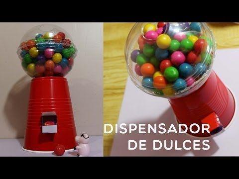 Dispensadores de caramelos DIY: Un regalo muy dulce | Aprender manualidades es facilisimo.com